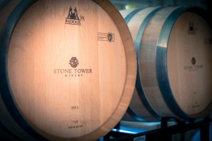 Stone Tower Winery Barrels