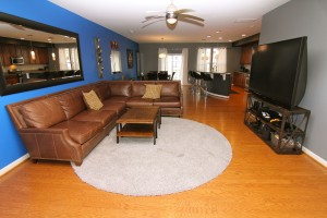 Open Floor Plan & Hardwood Floors