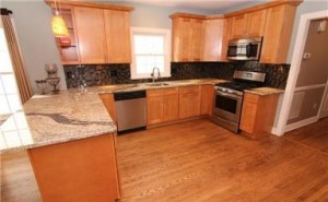 Beautifully updated kitchen in 208 Wilson Avenue!
