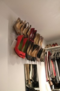 Crown Molding to Hold Shoes